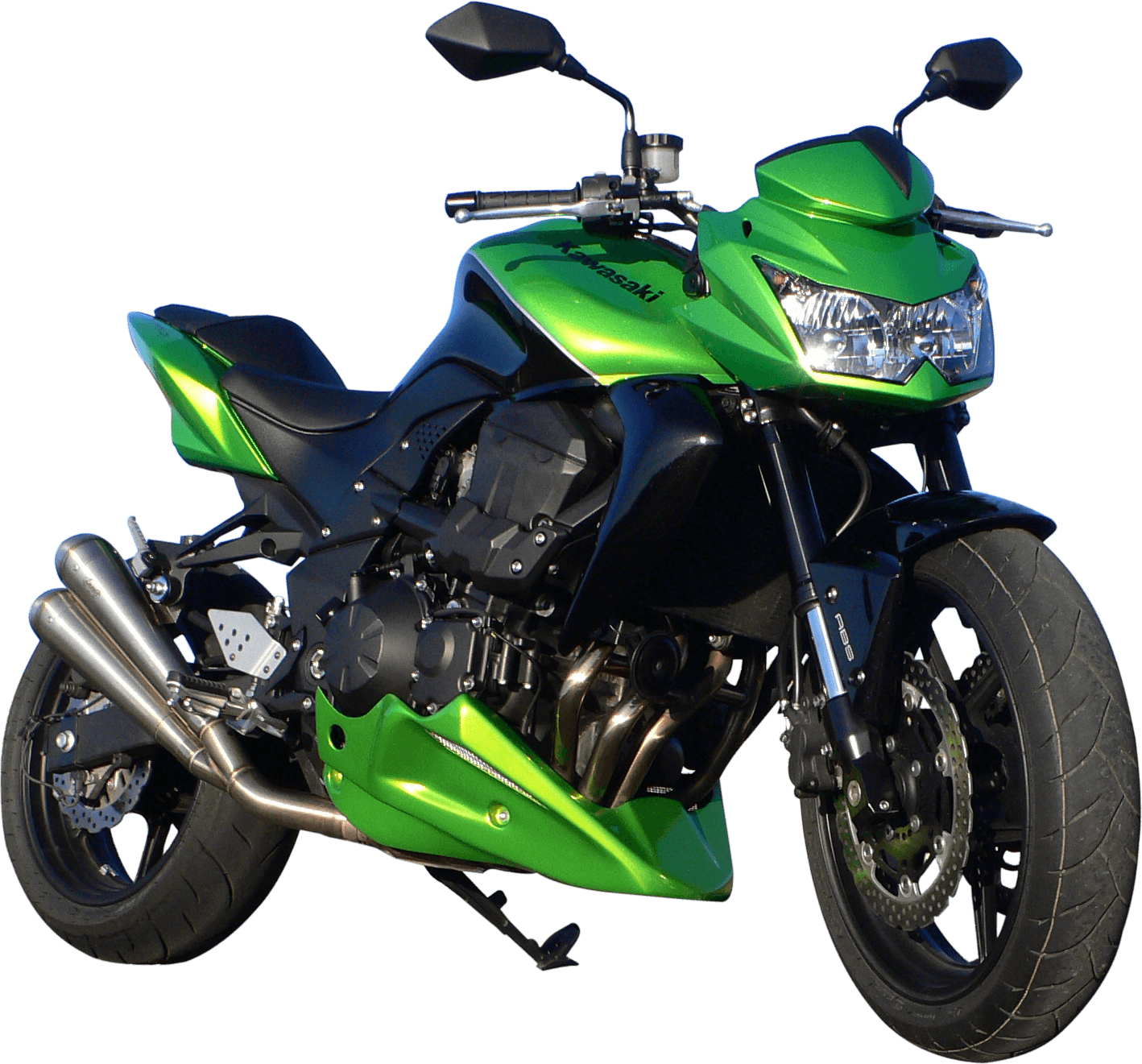 Green Moto Png Image Motorcycle Png PNG Image