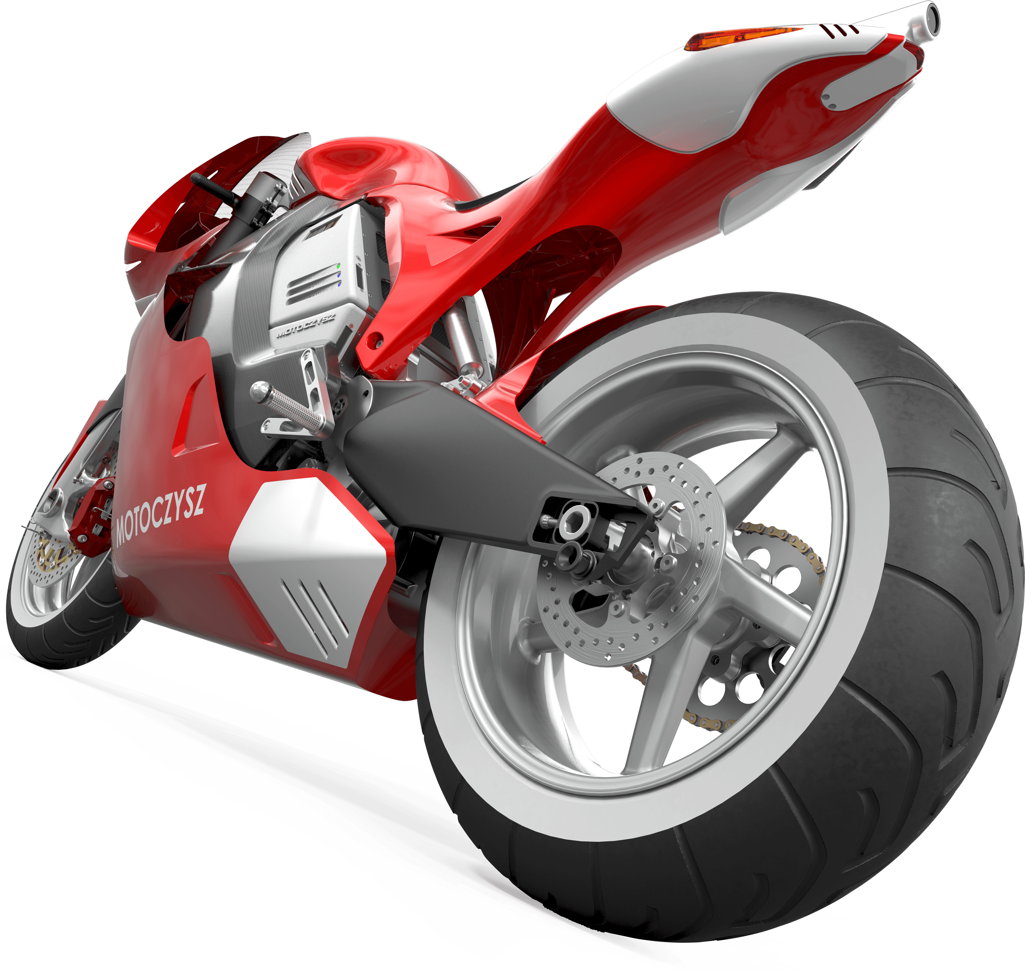 Red Sport Moto Png Image Red Motorcycle Png  PNG Image