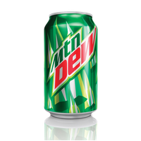 Mountain Dew Transparent Background PNG Image