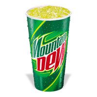 Mountain Dew Transparent PNG Image