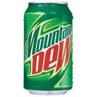 Mountain Dew Clipart PNG Image