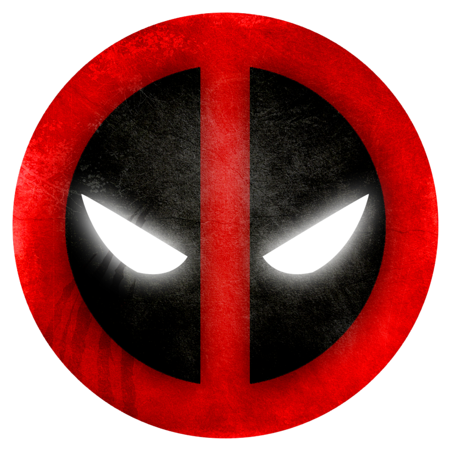 Deadpool Symbol Wallpaper Desktop Smile Logo PNG Image
