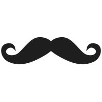 No Shave Movember Day Mustache Png Image PNG Image