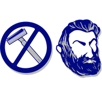 No Shave Movember Day Mustache PNG Image