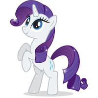 My Little Pony Rarity File PNG Image