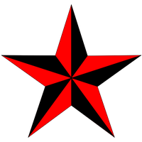 Nautical Star Tattoos Png PNG Image