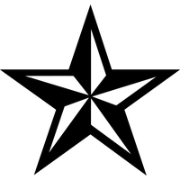 Nautical Star Tattoos Png Image PNG Image