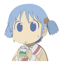 Nichijou Transparent Picture PNG Image