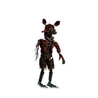 Nightmare Foxy Png Hd PNG Image