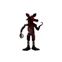 Nightmare Foxy Png Clipart PNG Image