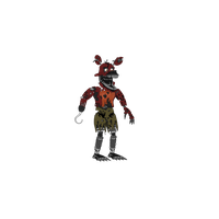 Nightmare Foxy Transparent PNG Image