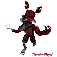 Nightmare Foxy Picture PNG Image