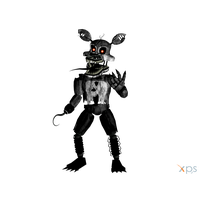 Nightmare Foxy Png Pic PNG Image