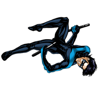 Nightwing Transparent PNG Image