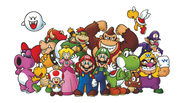 Nintendo Characters File PNG Image