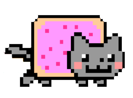 Nyan Cat Transparent PNG Image