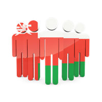 Oman Flag High-Quality Png PNG Image