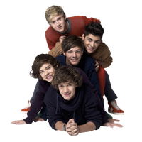 One Direction Transparent Image PNG Image