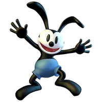 Oswald The Lucky Rabbit Transparent Background PNG Image