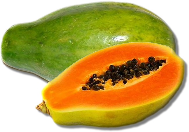 Papaya Transparent Background PNG Image
