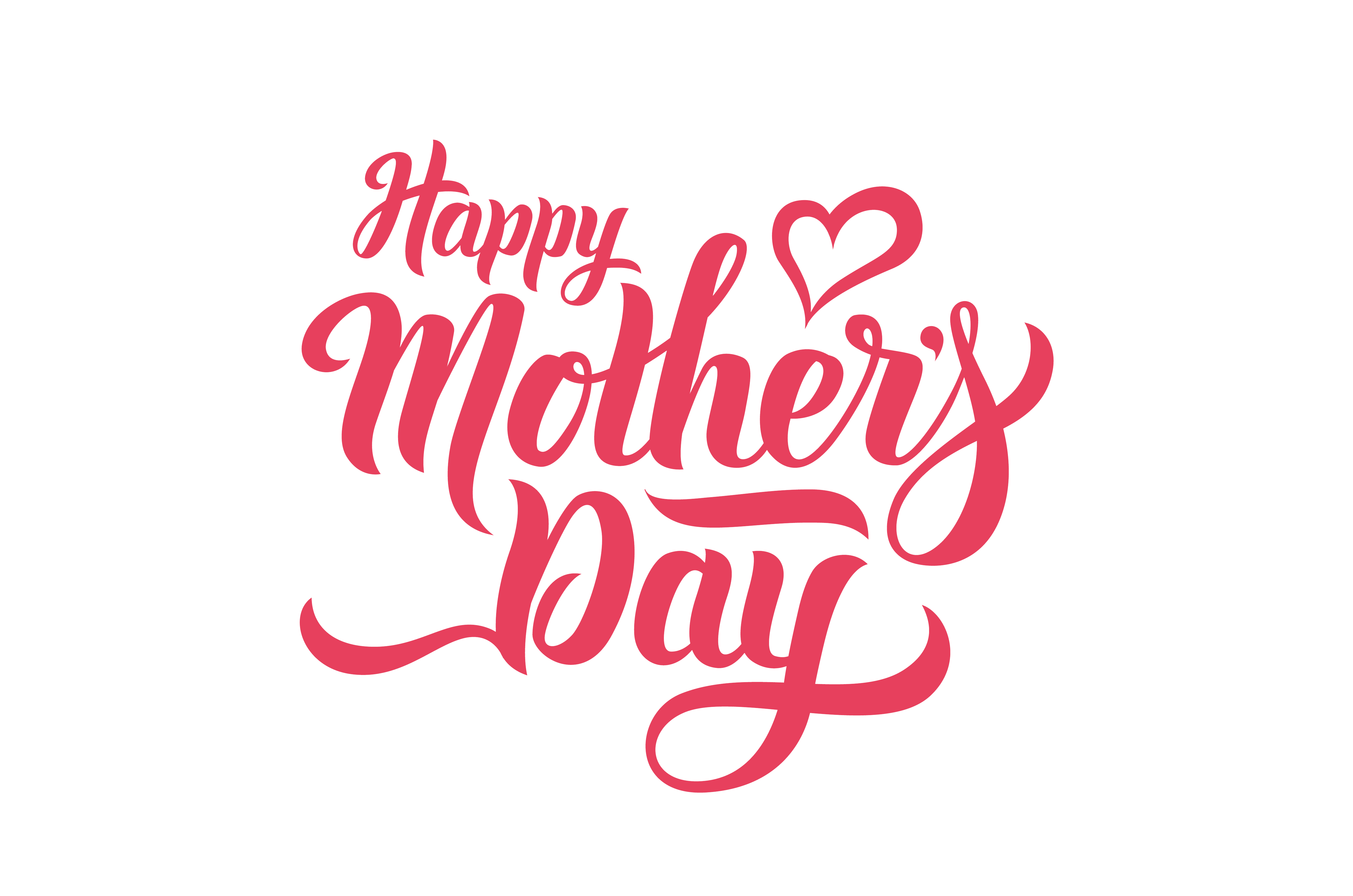 Mom Tattoo Transparent: Download Happy Mothers Day Mother'S Free Frame HQ PNG