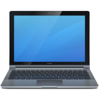 Laptop Computer Icon PNG Image