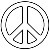 Peace Symbol Png Image PNG Image