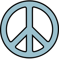 Peace Symbol Png Picture PNG Image
