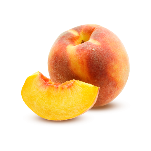 Peach Transparent PNG Image