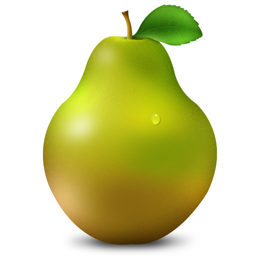 Pear Icon PNG Image