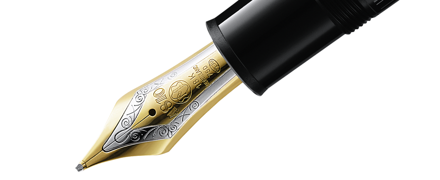 Fountain Pen Transparent Background PNG Image
