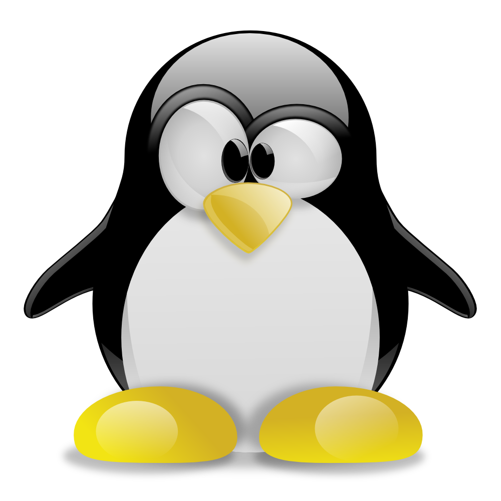 Tux Racer Penguin Linux Typing Free HD Image PNG Image