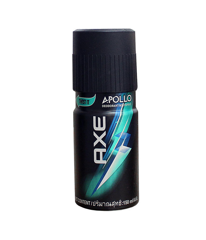 Axe Spray Transparent PNG Image