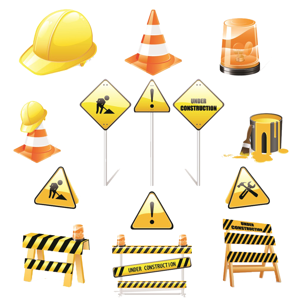 Material Royalty-Free Engineering Construction Safety Architectural Signs PNG Image
