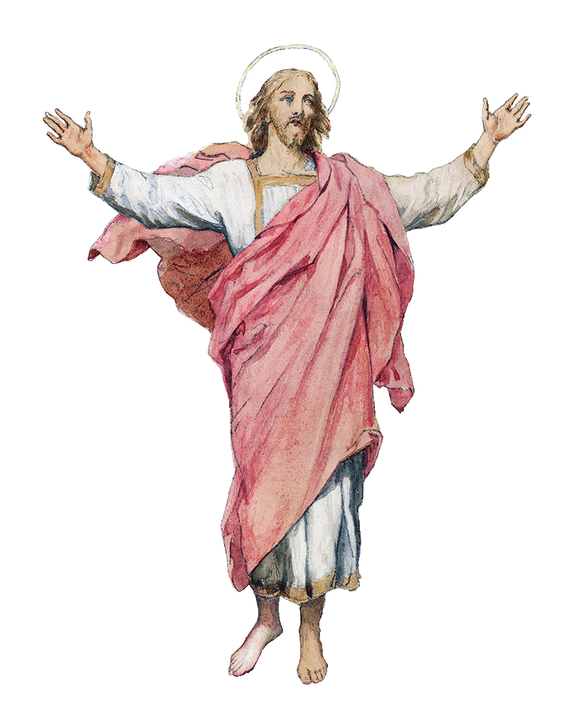 Ascension Of Christ Jesus HD Image Free PNG PNG Image