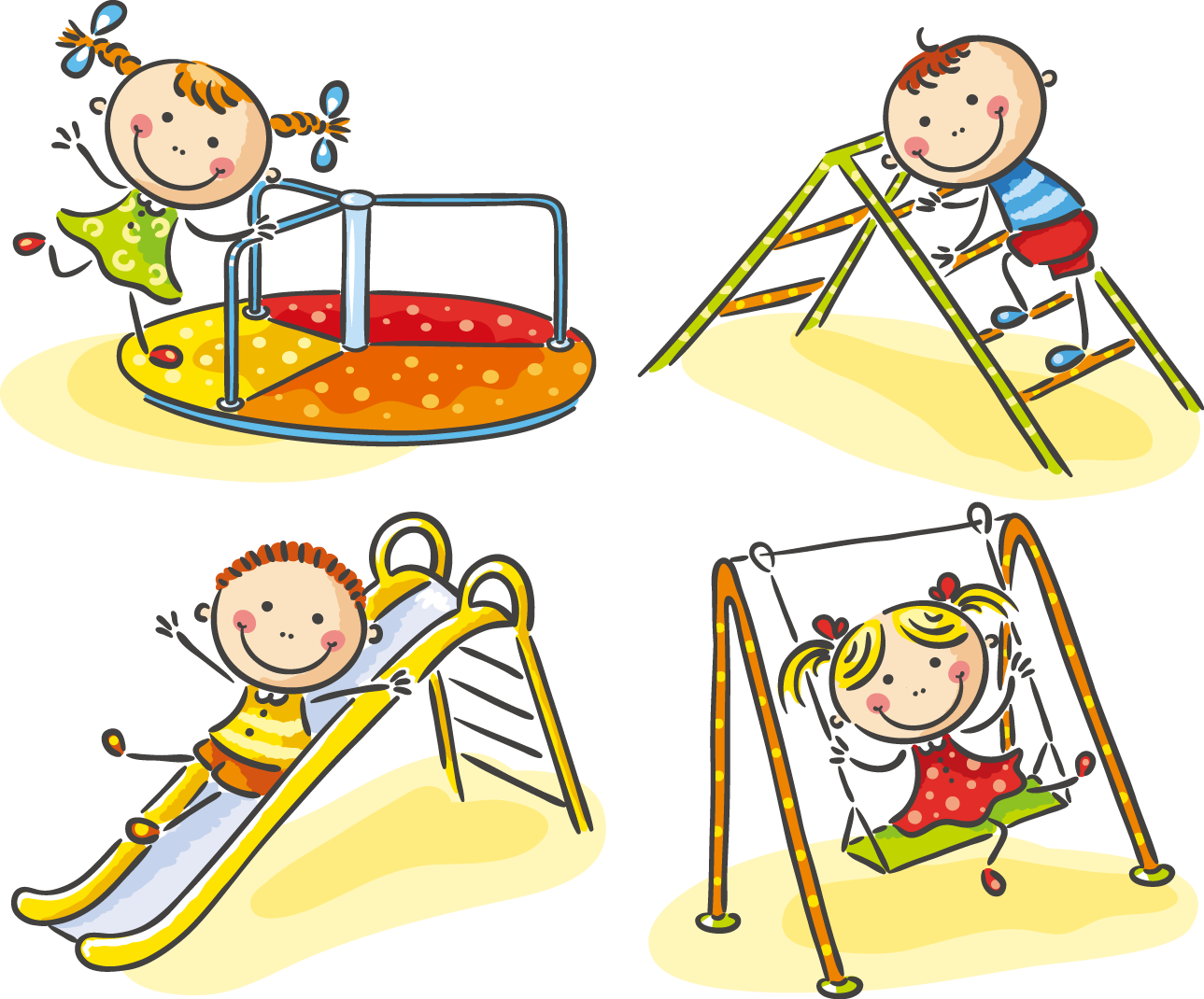 Cute Kids Photography 61 Playground Child Playing PNG Image