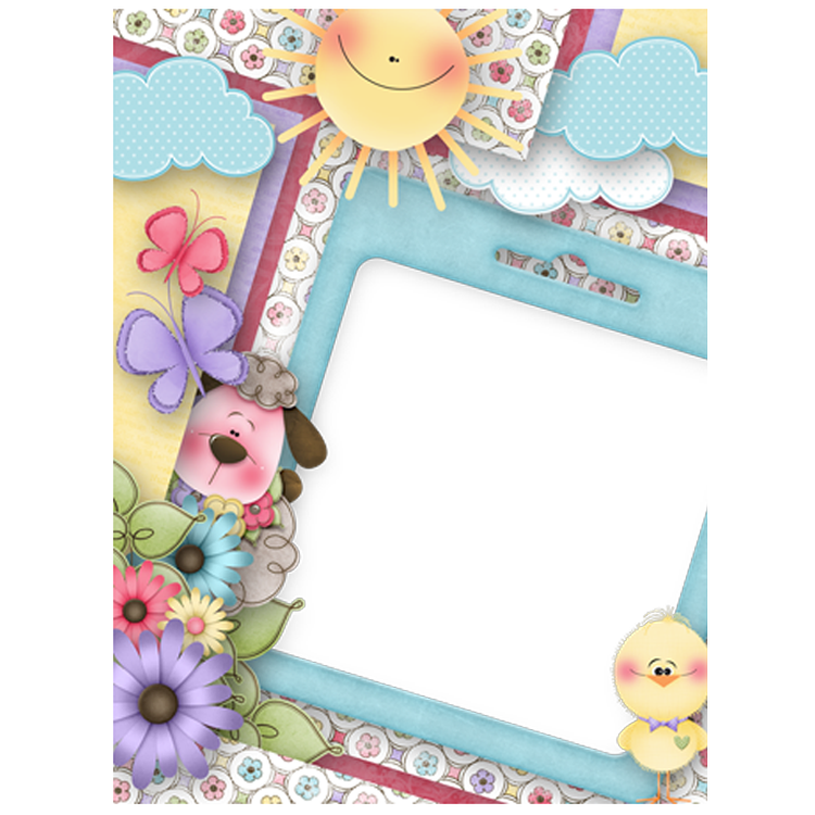 Cute Frame Cartoon Picture Download Free Image PNG Image