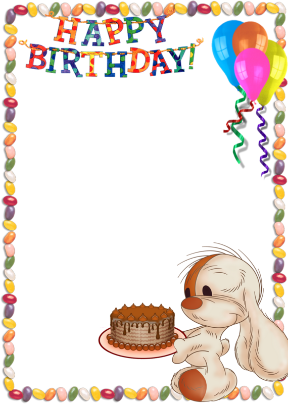 Picture To Birthday Frames You Happy PNG Image