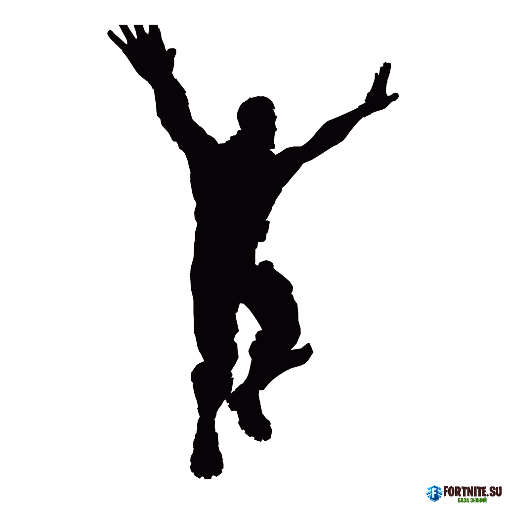 Standing Silhouette Poster Royale Fortnite Battle PNG Image