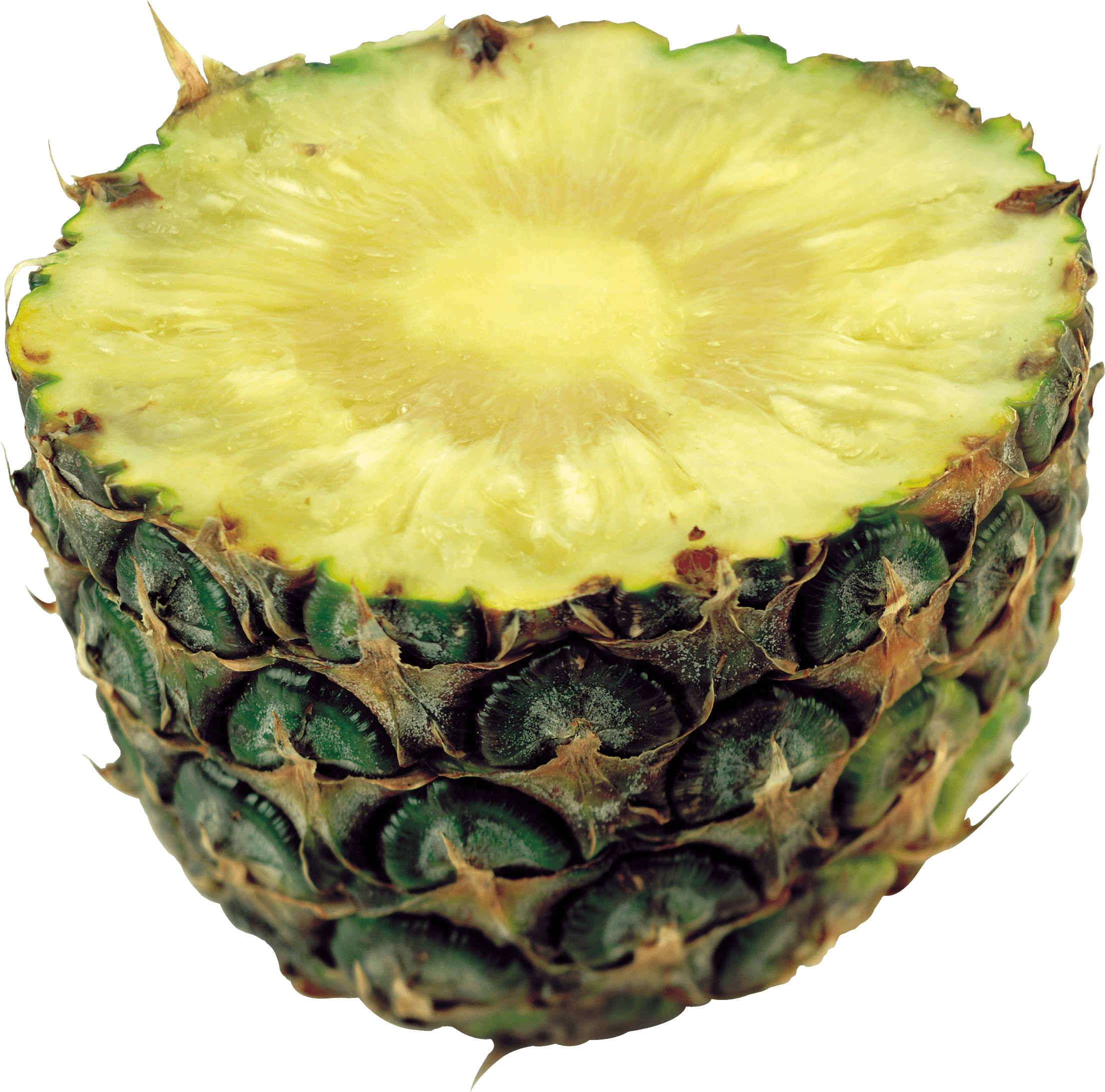 Half Pineapple Png Image PNG Image