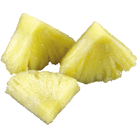 Pieces Of Pineapple Png PNG Image