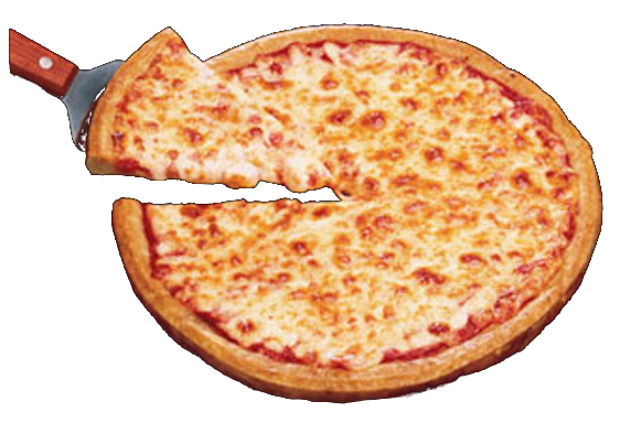 Cheese Pizza Transparent Image PNG Image