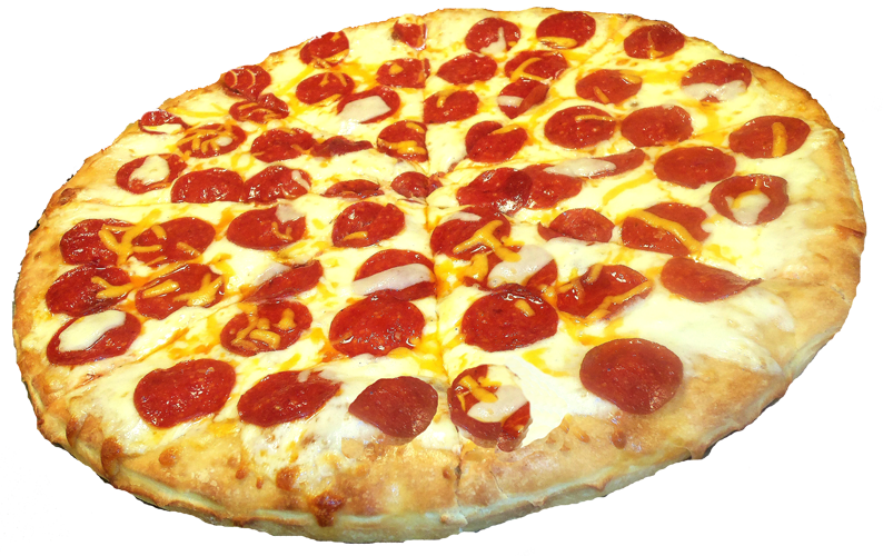 Pepperoni Pizza Transparent PNG Image