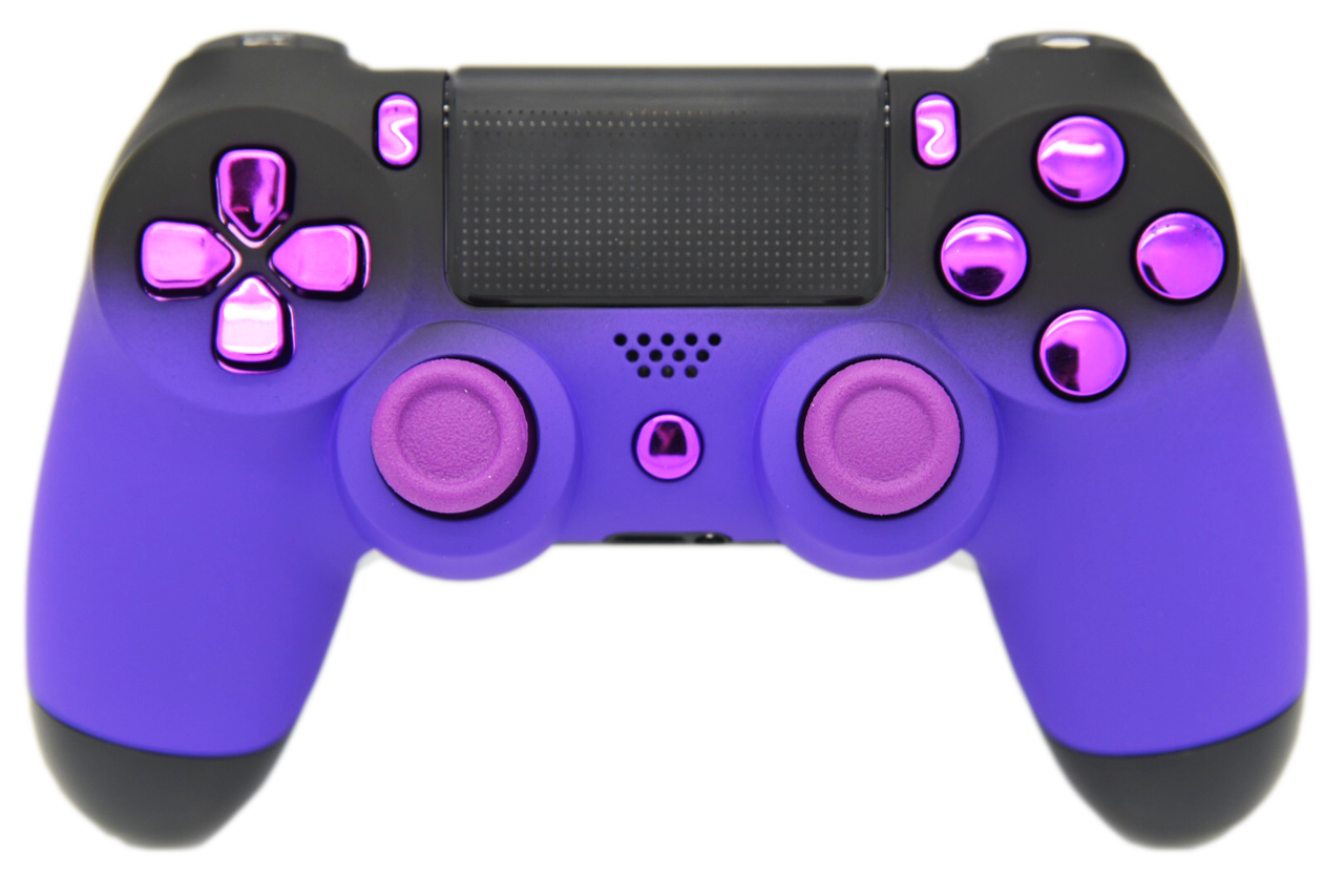 Controllers Playstation Game Purple Controller PNG File HD PNG Image