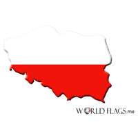 Poland Flag Png Pic PNG Image