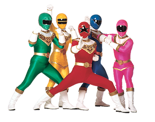 Power Rangers High-Quality Png PNG Image
