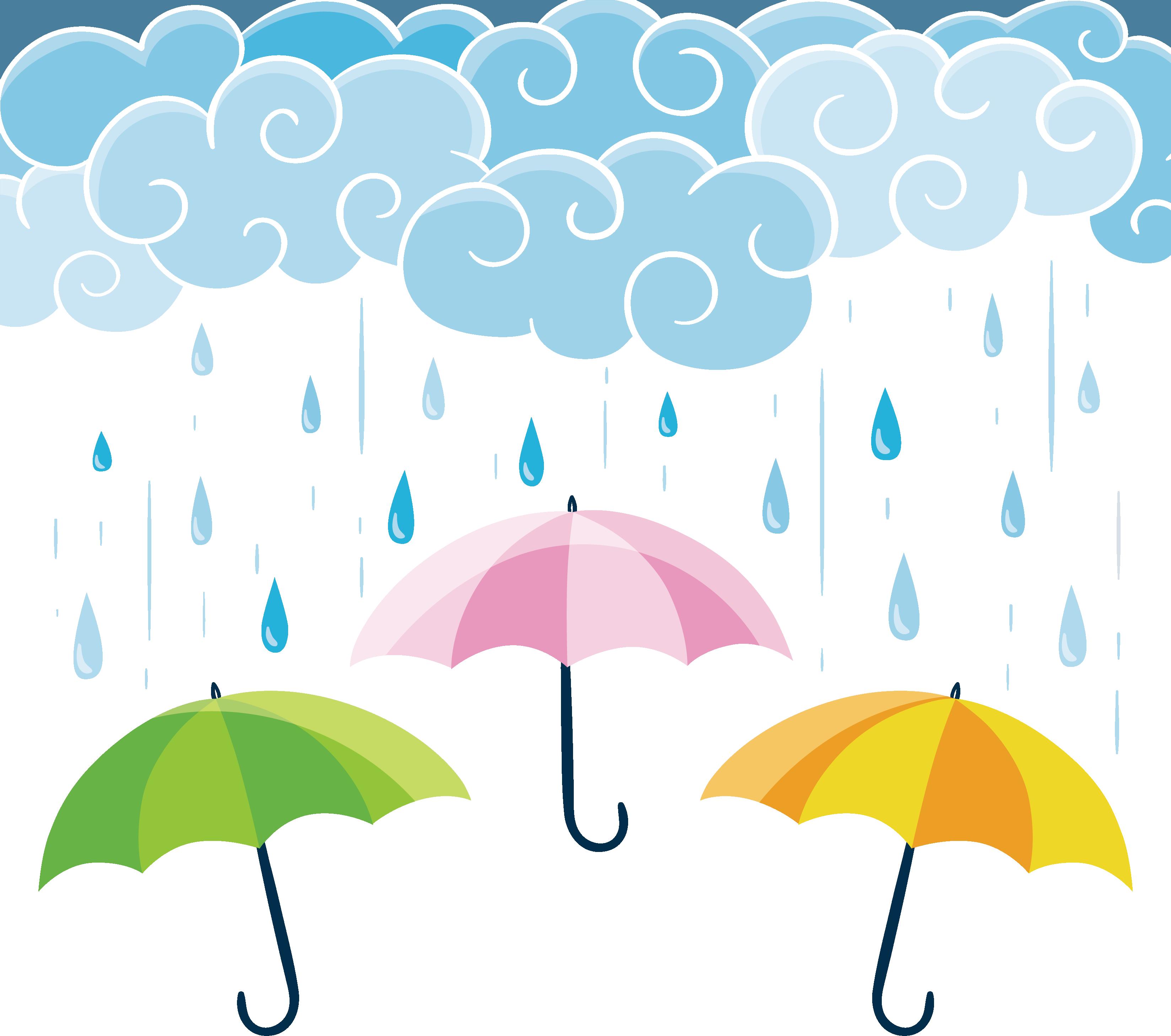 Download Graphic Umbrella Wallpaper Rain Computer Design Hq