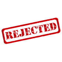Rejected Stamp Png PNG Image