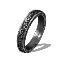 Silver Ring Clipart PNG Image