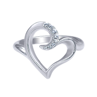 Heart Ring Hd PNG Image